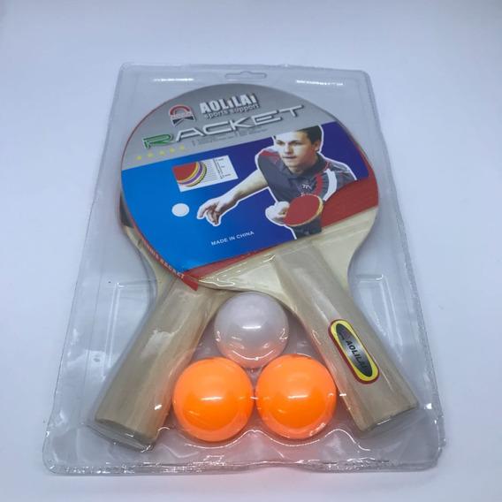 Set Ping Pong Con Pelotas