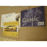 Manual Proprietario Corsa Classic Novo Original Gm 52026984