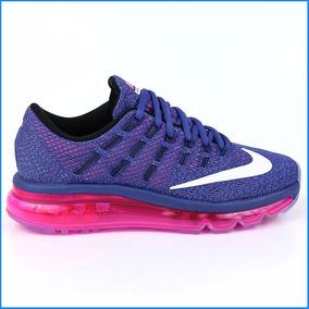d5b8c7652 Zapatillas Nike Air Max 2016 Para Mujer Running Nuevas Ndpm