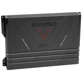 Amplificador Mono Clase D Crunch Dra1850.1d De 1800 Watts