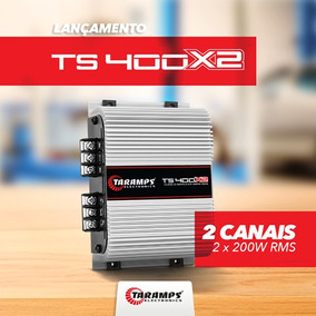 Taramps Ts-400 X2 Módulo C/2 Canais 400w Rms