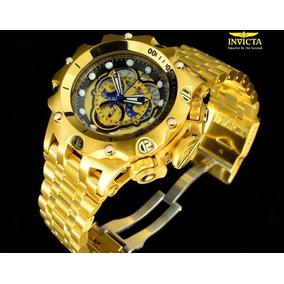 Relógio Invicta Venom Hybrid 16804 Dourado Original