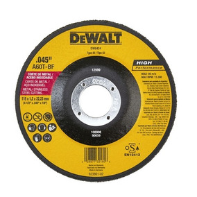 Disco Corte Ultra Fino Dewalt - Dw8424 -4-1/2 X0.045 X7/8