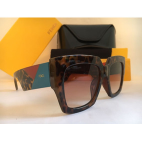 79d5639f79e6f Oculos De Sol Feminino Fendi Evelyne Original - Óculos no Mercado ...