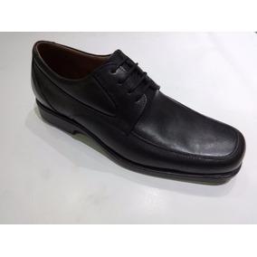 Zapato Talle Grande Roble Art 863 Color Negro