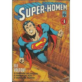 Super-homem Nº 1 Abril - Formatinho 1984