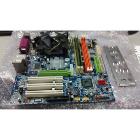 Kit Placa Mae 775 Gigabyte Ga-vm800pmc Ddr-1 1g + Pentium 4