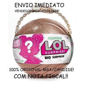 A Verdadeira! Big Bola Lol Surprise Original Mga Com Nota !