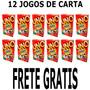 Jogo De Cartas Uno Fast - Caixa Com 12 Jogos - Original B23
