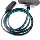 Cable Usb Luz Flujo Iphone Envio Gratis!!!