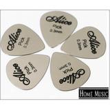 Alice Metalicas Puas Flexo Uñas Picks De Guitarra 0.3 Mm