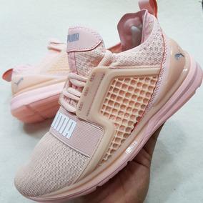 tenis puma para mujer rosas