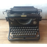 Antigua Maquina De Escribir Alemana Seidel & Naumann