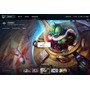 Cont De League Of Legends Platina Com Borda Gold E Ufo Corki