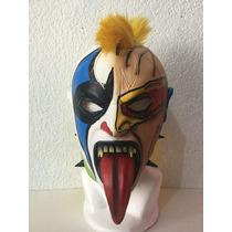 Psycho Clown Modelo Cyclope Mascara De Latex Envio Gratis