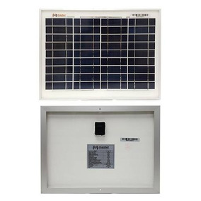 Celda Panel Solar Policristalina 10 Watts Master