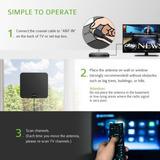 Plano Interior Digital Alta Definición Tv Antena Tvfox...