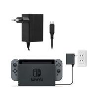 Cargador Nintendo Switch Compatible Con Dock Jys Enchufe
