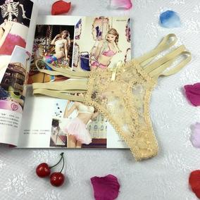Ropa Interior Femenina Tanga Respirable De Moda