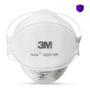 50 Máscara Respirador 3m Pff2 Aura 9320 N95 - C/ Nota Fiscal