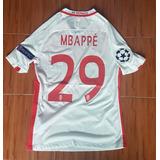 Camiseta Monaco Mbappe Champions 2017