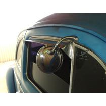 Retrovisor Hot Pipe Fusca Porta Alto Superior Espelho Vw