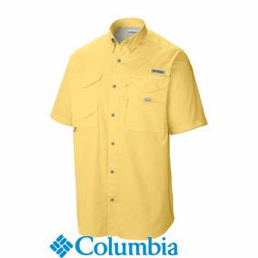 Camisa Columbia Bonehead Mangas Cortas Ultimas