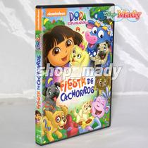 Dora La Exploradora - Fiesta De Cachorros - Dvd Reg. 1 Y 4