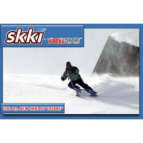 Trikke Sky, Skky, Skki, Esqui, Esquiar