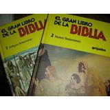 El Gran Libro De La Biblia Ilustrada 2 Tomos + Estuche Usado