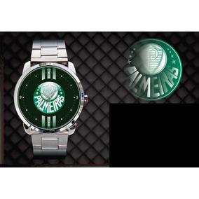 Relógio De Pulso Personalizado Palmeiras Futebol Verdão