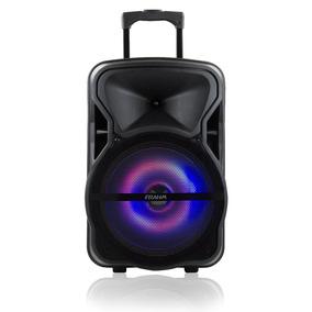 Caixa Amplificada Portátil 600w Bluetooth Usb Frahm