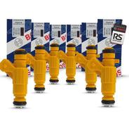 6 Bicos Injetor Bosch 28 Lbs Original Gm Astra Flex Fueltech
