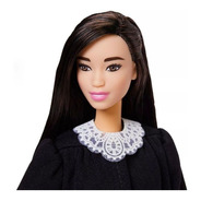 Barbie Juíza Direito Profissões Cabelo Preto Mattel Ms