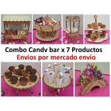 Combo Candy Bar 7 Unidades Baby Shower