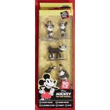 Disney Nano Metalfigs Mickey Mouse 90 Años Paquete De 5