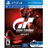 Gran Turismo Sport Ps4 Nuevo Original Domicilio