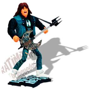 Boneco Do Game Guitar Hero Axel Steel Mcfarlane Camisa Preta