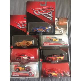 Cars 7 Autos Rayo Mcqueen Coleccion Disney Pixar No Subasta