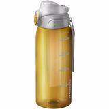 Squeeze Garrafinha Agua 750 Ml Com Tubo Gelo Amarela Sopran