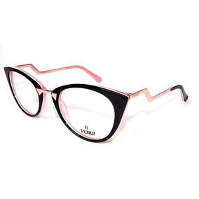 Armacao De Oculos Rosa Da Fendi Armacoes - Óculos no Mercado Livre ... ae83f184f6
