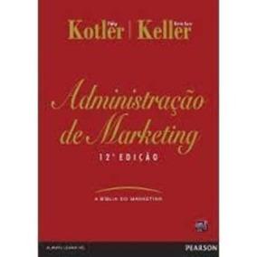 Livro Administração De Marketing Philip Kotler