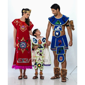 Tres Trajes Tipico De Azteca Regional Tipico Aztecas Velur