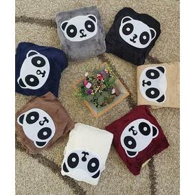 Blusa Feminina Panda Plush Pelucia Bolsos Com Capuz 21e4058b6f7