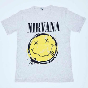 Remera Nirvana Nueva Original