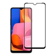 Mica Cristal Templado 10d 9d Marco Negro Modelos Samsung