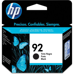 Cartucho Original Hp 92 Preto Inkjet - Hp