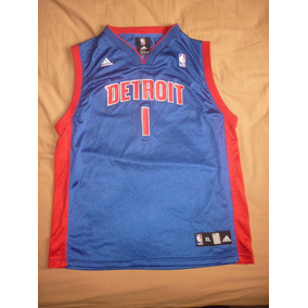 E Camiseta Detroit Pistons adidas Nba Talle Xl Chico Art 33