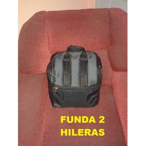 Fundas Para Acordeon 2 Hileras , 3 Hileras, 60,80 Y120 Bajos