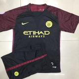 Camisa Manchester City Preto Kits 17 Pronto Entra
